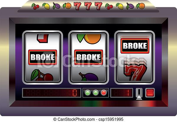 Slot Machine Broke - csp15951995