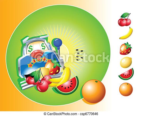 Slot machine - csp6770646