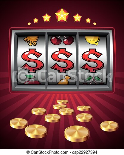 Slot machine - csp22927394