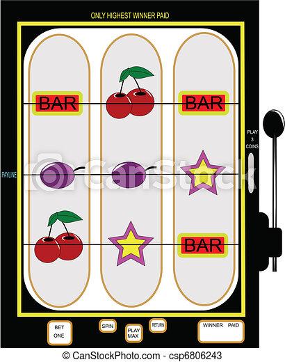 slot machine - csp6806243
