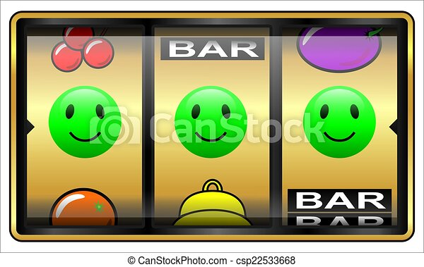 Slot machine, gambling, lucky - csp22533668