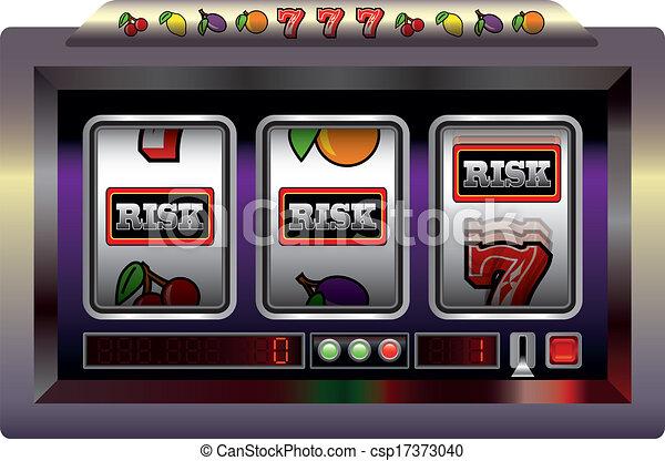 Slot Machine Risk - csp17373040