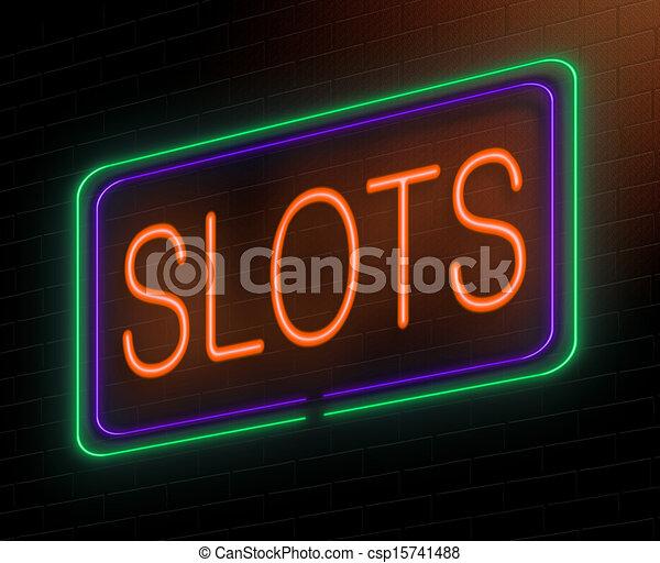 Slots concept. - csp15741488