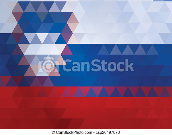 slovenia flag of vector - csp20497870