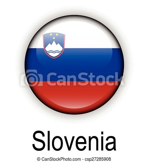 slovenia state flag - csp27285908