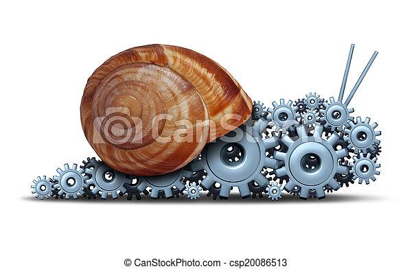 Slow Business - csp20086513
