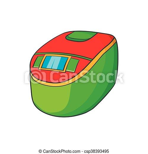 Slow cooker icon, cartoon style - csp38393495