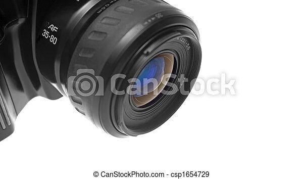 SLR Camera's lens closeup - csp1654729