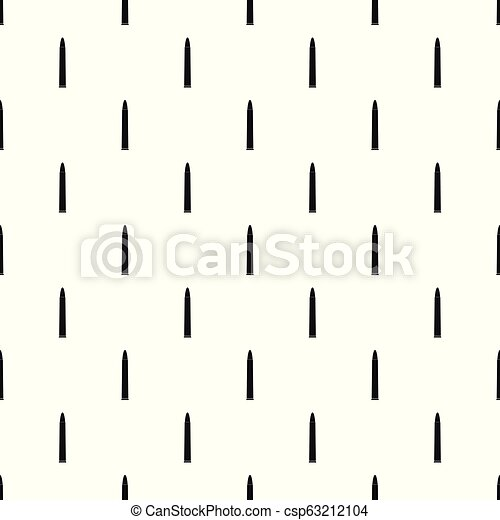 Small cartridge pattern seamless vector - csp63212104
