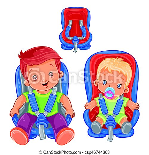 Small Children In Car Seats