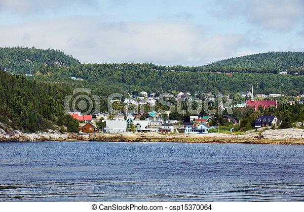 Small coast town - csp15370064