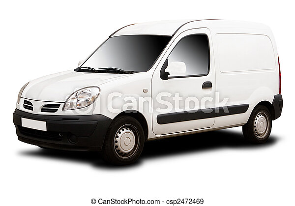 Small Delivery Van - csp2472469