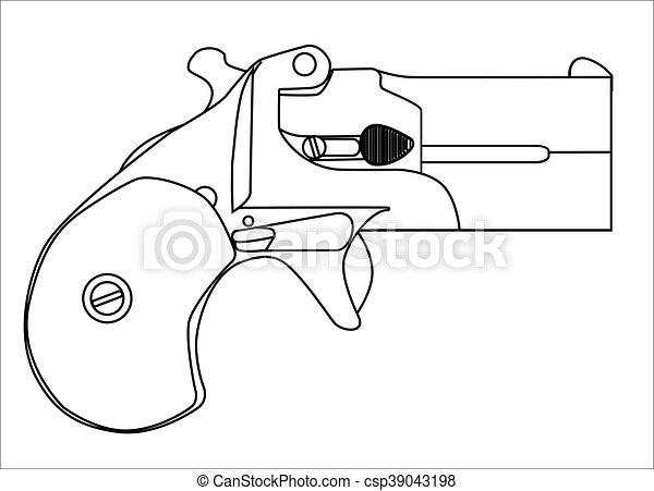 Small Derringer Pistol