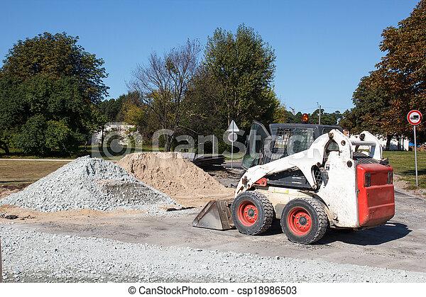 small excavator - csp18986503