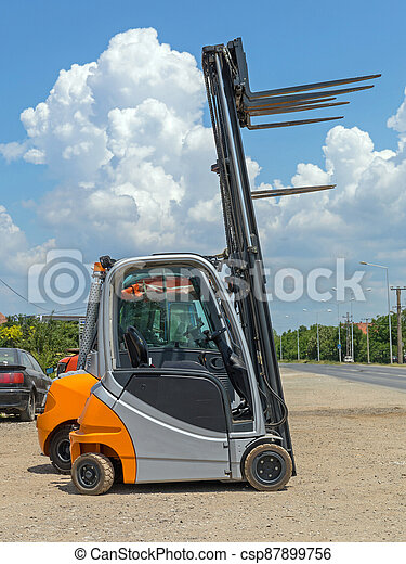 Small Forklift Truck - csp87899756