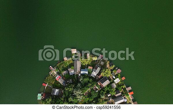 Small green island - csp59241556