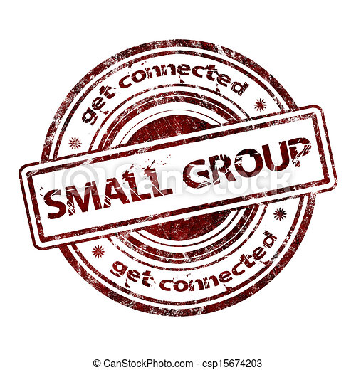 small group get connected small group grunge rubber stamp rh canstockphoto com Clip Art Group of Students Clip Art Group of Students