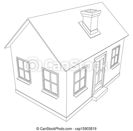 small house  wire