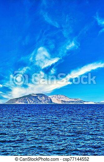Small island in Aegean Sea between Kos and Nisyros - csp77144552
