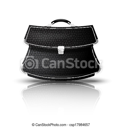 Small leather Handy - csp17984657