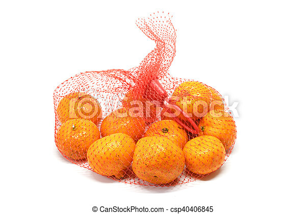 small orange detail fruit - csp40406845