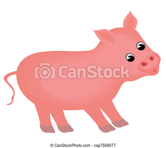 small piglet insulated - csp7556077