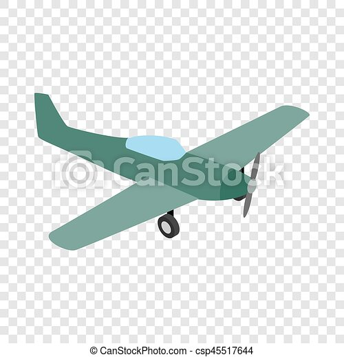 Small Plane Isometric Icon