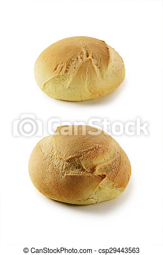 small round bread - csp29443563
