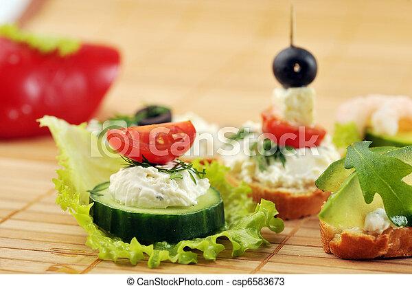 small sandwich - csp6583673