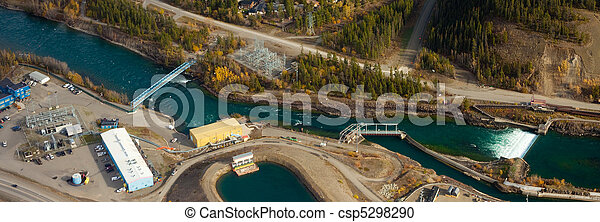 Small scale hydro power plant - csp5298290