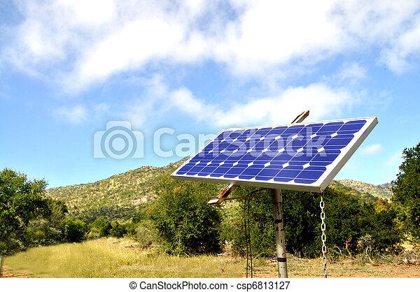 Small solar panel - csp6813127