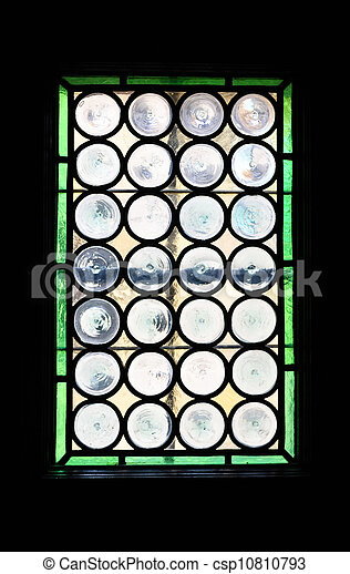 Small stained-glass window - csp10810793