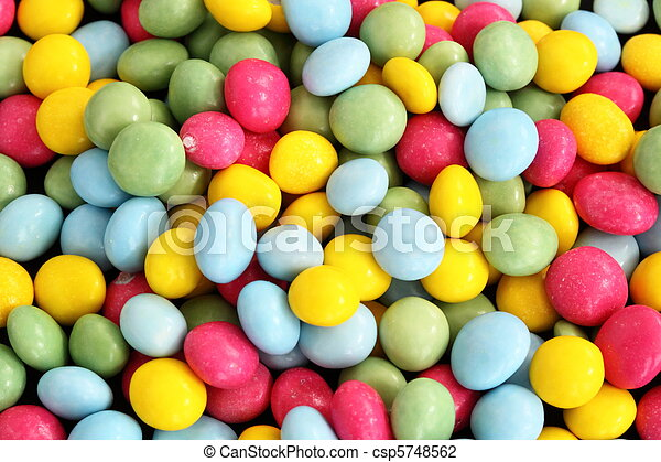 small sugar coated cake decorations - csp5748562