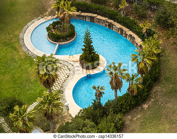 Small swimming pool - csp14336157
