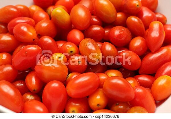 small tomato cherry tomatoes  - csp14236676