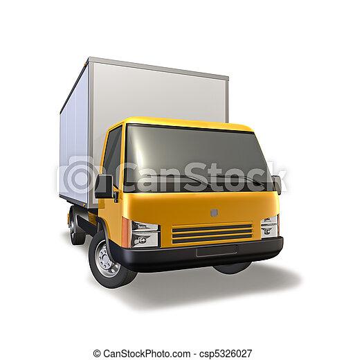 Small Truck - csp5326027