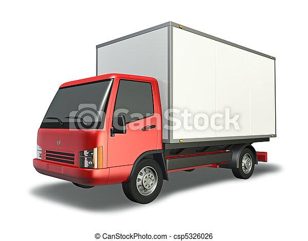 Small Truck - csp5326026