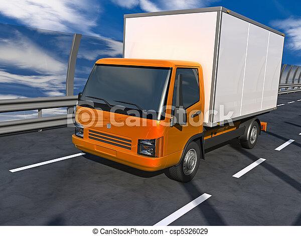 Small Truck - csp5326029