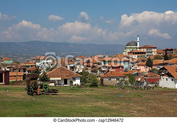 Small village in Turkey - csp12946472