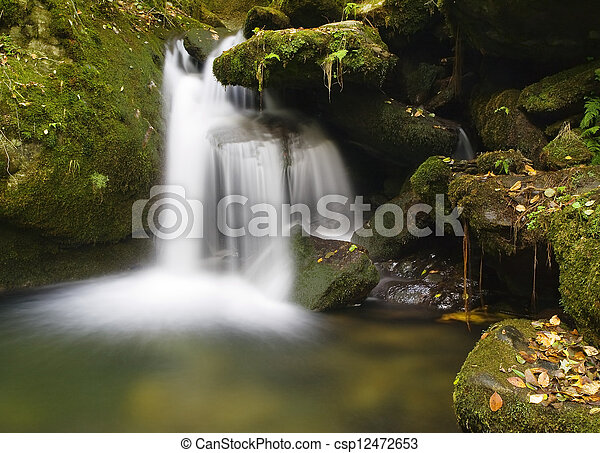 Small waterfall - csp12472653