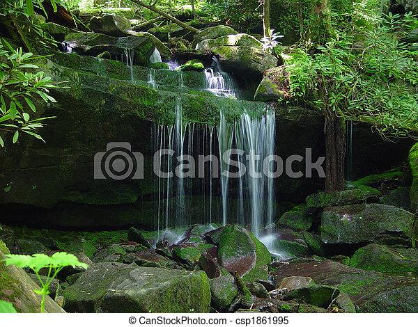 Small Waterfall - csp1861995