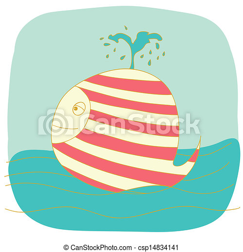 small whale - csp14834141