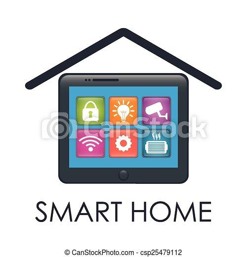 smart home  - csp25479112
