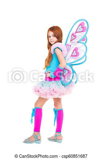 Smart little girl - csp60851687
