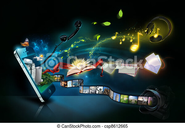 Smart phone concept - csp8612665
