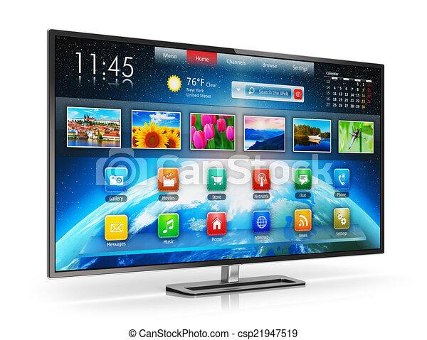 Smart TV - csp21947519