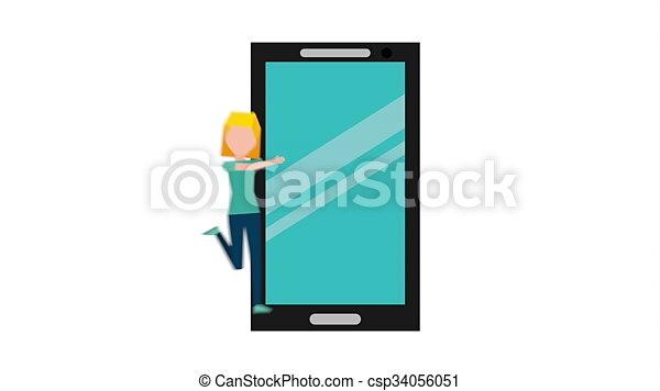 smartphone addiction design, Video Animation