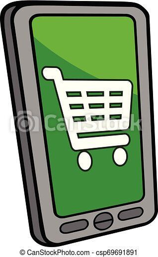 Smartphone Checkout - csp69691891