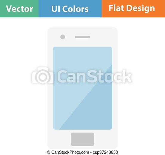 smartphone, icône - csp37243658