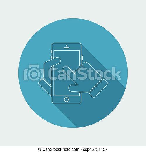 Smartphone icon - csp45751157